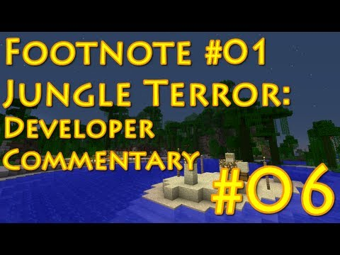 "Minecraft: Jungle Terror Developer Commentary - E06 - ""Shift Key Failure"" (M265)"