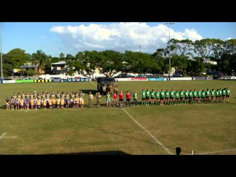 Anzac Ceremony @ Easts Rugby Union 23-4-16