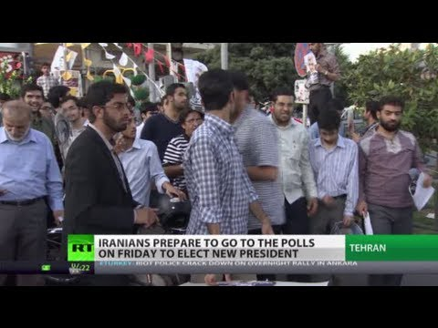 After Ahmadinejad: Iranians prepare to elect new president