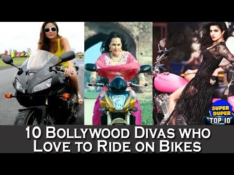 10 Bollywood Divas who Love to Ride on Bikes - HD Latest 2018