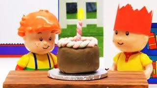 Caillou Cartoon For Kids 🎂  Happy Birthday 🎂 Stop Motion Series | Toy Store - Toys For Kids