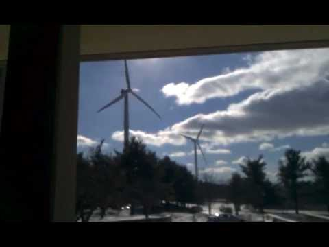 Wind Turbine @ Mount Wachusett Community College
