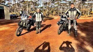 Part 1/4 Great Central Road to the Centre Of Australia and back via the Nullarbor, on motorbikes