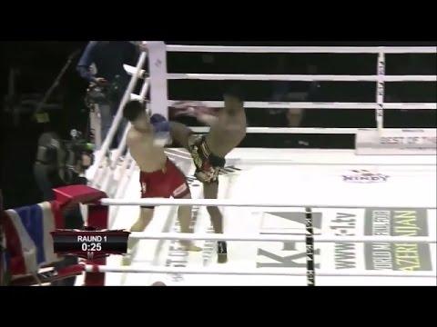 БУАКАВ против ЛИ САНГ ХЬЮНА: удар коленом в прыжке