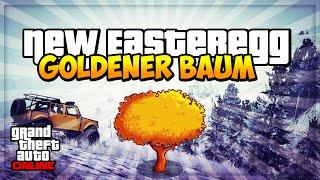 GTA 5 Online: GEHEIMER GOLD BAUM | SECRET EASTER EGG ! | Deutsch