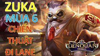 Giáo Sư ZUKA Mùa 6 leo rank cao thủ và chiến thuật chơi hiệu quả cùng cách lên đồ mới