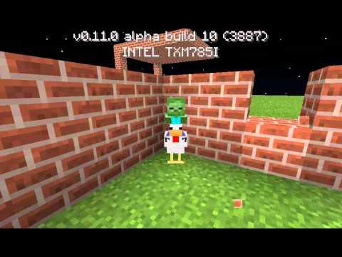 Chicken Minecraft pe Chicken Jockey no Minecraft pe