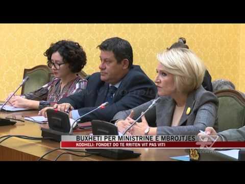 Buxheti për Ministrinë e Mbrojtjes - News, Lajme - Vizion Plus