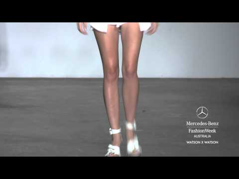 WATSON X WATSON - MERCEDES-BENZ FASHION WEEK AUSTRALIA SPRING SUMMER 2012/13 COLLECTIONS