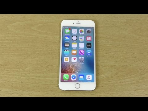 Apple iPhone 6 Plus iOS 10 Beta 1 - Review!