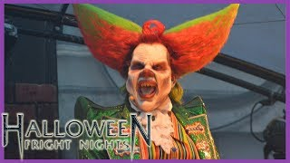 Walkthrough: Alle scare zones - Halloween Fright Nights 2018 - Walibi Holland