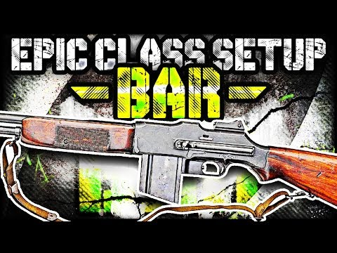 "THE BEST ""BAR"" EPIC CLASS SETUP! (Call of Duty WW2 Multiplayer Gameplay)"