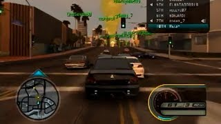 Midnight Club Los Angeles Online Gameplay