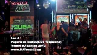 Download lagu Los 4 - Popurri de exitos (Live Tropicana) 2013