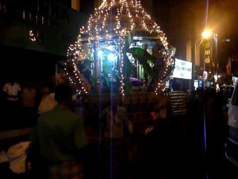 Sri Lanka,ශ්රී ලංකා, Tamil Hindu procession in Colombo