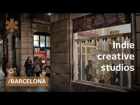 Coworking & collision of ideas in Barcelona's craft studios