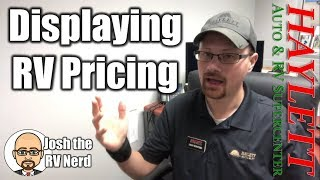 What are RV MAP Pricing Guidelines with Josh the RV Nerd