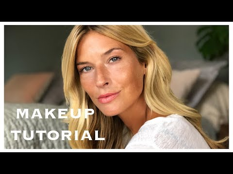 My everyday makeup routine   Glowing skin