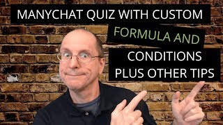 ManyChat - How to use ManyChat User Input and ManyChat Custom Field