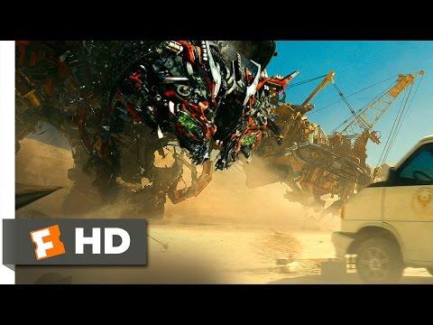 Transformers: Revenge Of The Fallen (2009) - Devastator's Assault Scene (7/10) | Movieclips