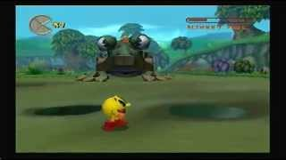 Pac-Man World 2 100% Walkthrough Part 5 - Blinky's Killer Frog