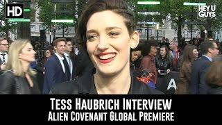 Tess Haubrich Premiere Interview - Alien Covenant