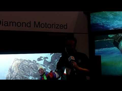 InfoComm 2013: Screen Innovations Reveals Black Diamond Motorized Screen
