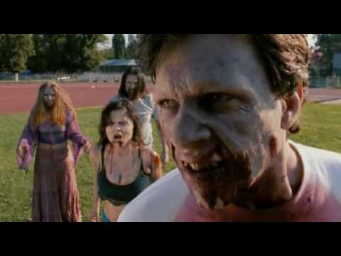 Zombie Eats Cheerleader's Ass