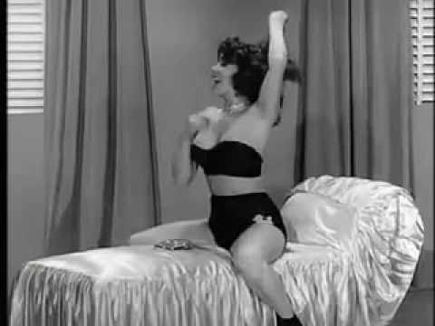 Blaze Starr in a high quality film from the 1950's. Burlesque Strippere Strip