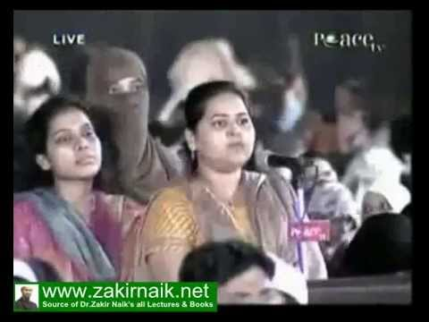 Zakir Naik Q&A-180  |   Can Muslim Women divorce her Husband