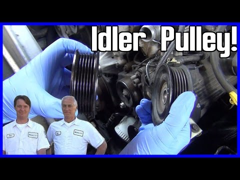 How to Replace an Idler Pulley Ford Explorer 2002-2005 V8 4.6L