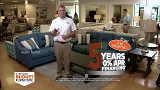 5 Years 0% APR Financing - Turner's Budget Furniture