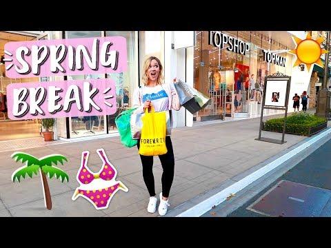 Shopping for Spring Break!!