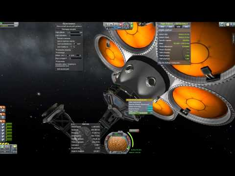 Hyperion 68k - Orbital Fuel Tanker Station - Giant 70MN Vanilla Rocket - KSP
