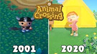 Evolution Of Animal Crossing Games [2001-2020]