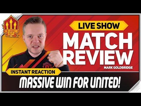 Goldbridge Rashford Goal Superb Leicester 0-1 Manchester United Match reaction