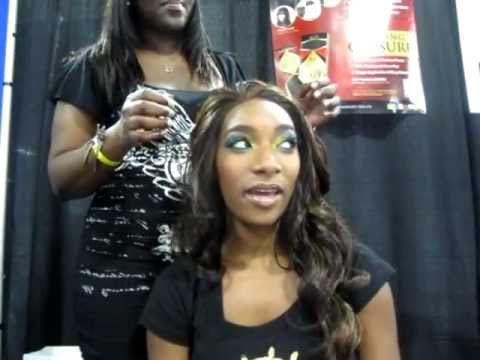Weave Closure Tutorial XQ Remy Hair