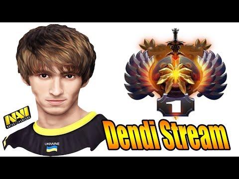 Dendi Dota 2 Try Hard Immortal Rank Match Live Stream