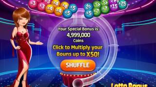 Lotto Bonus. Animation for game