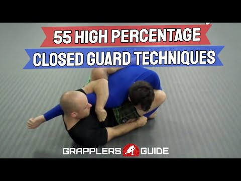 55 High Percentage Closed Guard BJJ Techniques Version 2.0 - Jason Scully
