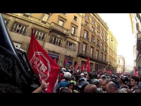 Manifestazione per il diritto alla casa, Roma 31 ottobre 2013