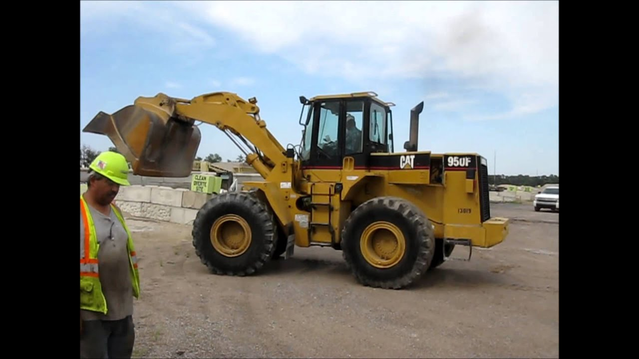 1997 Caterpillar 950f Series Ii Wheel Loader For Sale