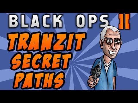 Black Ops 2 Zombies: Tranzit Secret Paths - Church & Town