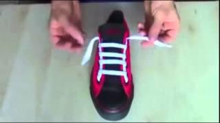 すぐに試せるクールな靴紐の結び方。