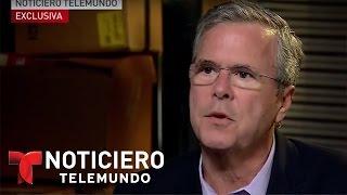 Jeb Bush defiende solución para los indocumentados