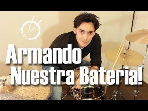 Armando Nuestra Batería!!
