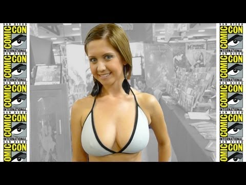 The Girls Of Comic-con 2012 video