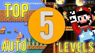 Top 5 Super Mario Maker Auto Levels of October 2015