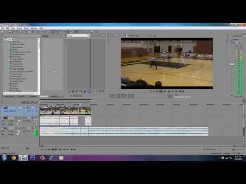 How to Stop Lagging While Previewing A Video In Sony Vegas Pro 12