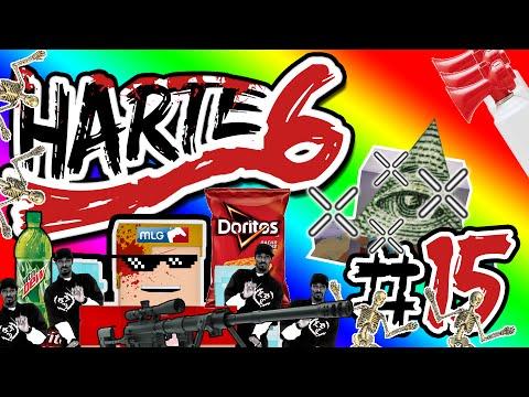 Harte 6 #15 FIGHT!!!!!!!!!!!11111 | Minecraft | Porkchop Media